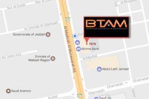 BTAM Map Location